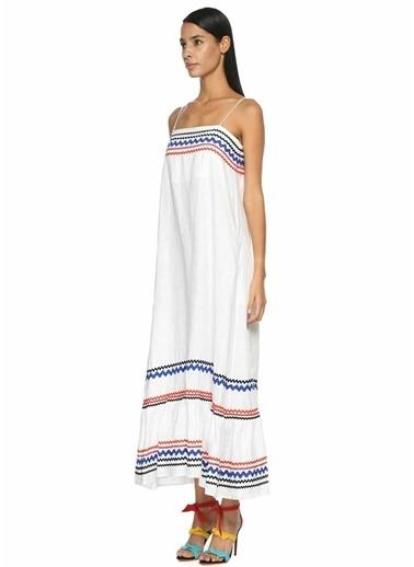 Lisa Marie Fernandez Elbise Beyaz